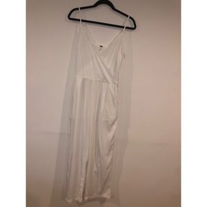 Free People Belted Jumpsuit Size: 6 Small White